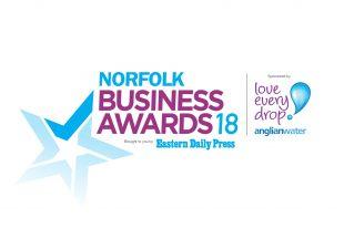 We've partnered with Norfolk Business Awards 2018
